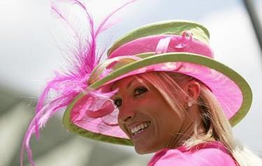 Los sombreros, tocados y pamelas de Ascot 2009