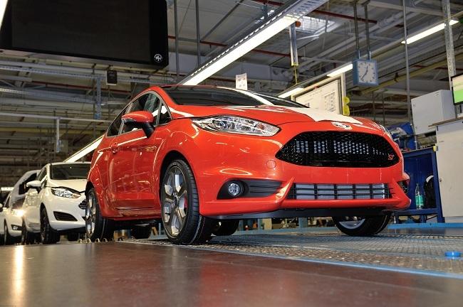 Producción del Ford Fiesta ST