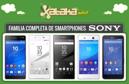 Así queda el catálogo de Sony tras la llegada de los nuevos Xperia Z5