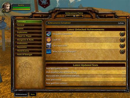'World of Warcraft' tendrá Logros en su próxima expansión