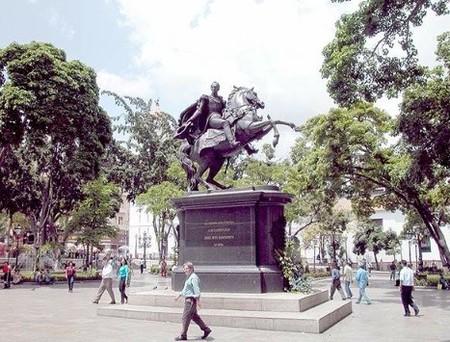 Plaza Bolivar de Caracas