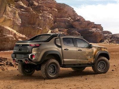 Chevrolet Colorado ZH2: cuando los militares experimentan con la pila de combustible