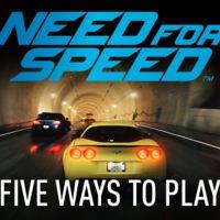 Así vas a jugar a Need for Speed