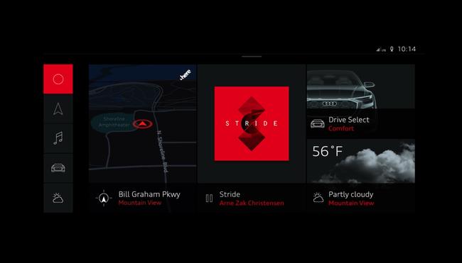 Audi integra por primera vez y de forma completa el sistema Android en el Q8 Sport Concept