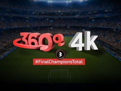Antena 3 también se apunta a emitir la final de la Champions en 4K y 360 grados