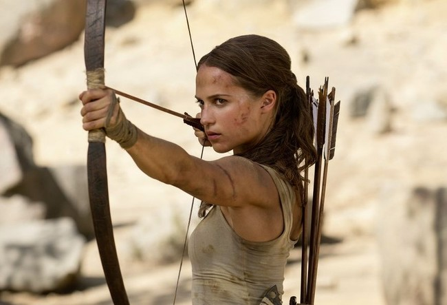 Alicia Vikander es Lara Croft