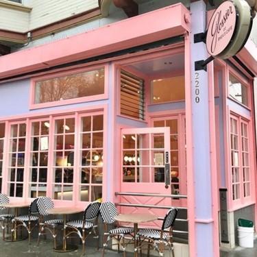 El nuevo café de moda de Instagram está en San Francisco y... sí, es rosa millennial