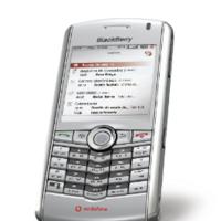 Blackberry para particulares de Vodafone con la Pearl en gris