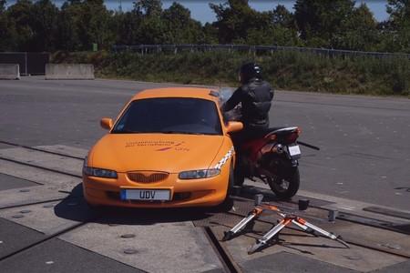 Choque Frontal Motorista