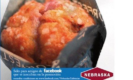 Un muffin gratis al comprar una bebida caliente en las cafeterías Nebraska