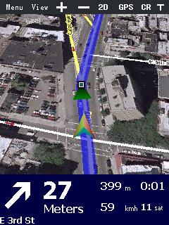 Navegación GPS con Google Navigator