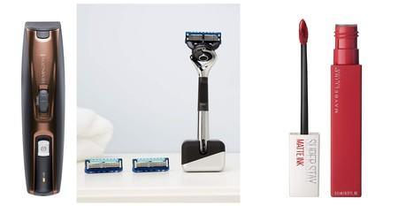 Ofertas del día en la sección de belleza y cuidado personal de Amazon en marcas como Gillette, Remington o Maybelline