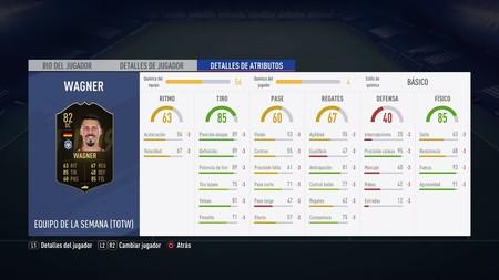 Fifa 19 Desafio Totw De Fut En Los Menus 84