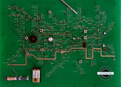 Un mapa del metro de Londres que también es una radio