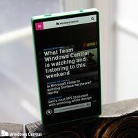 """Antes que Xiaomi, Samsung y Apple, Microsoft desarrolló un smartphone """"sin marcos"""" que no vio la luz"""