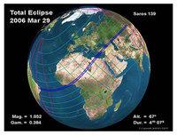Observa el eclipse total del 29 de marzo desde Libia
