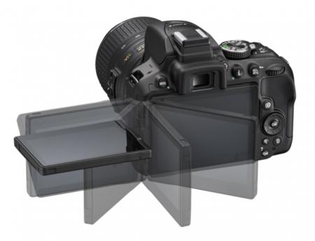 Nikon D5300 pantalla