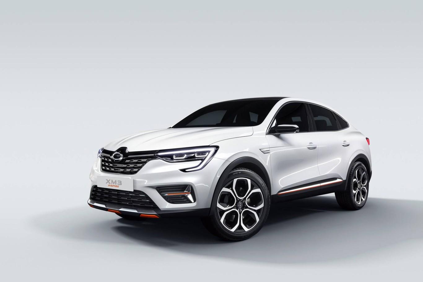 cd9b793c0101 El Renault Samsung XM3 Inspire es un SUV compacto para el mercado de Corea  del Sur basado en el ARKANA