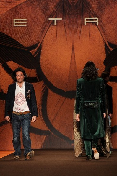 Etro Otoño-Invierno 2012/2013, en la Semana de la Moda de Milán