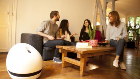 Este robot quiere ser el centro multimedia de todas las habitaciones de tu casa