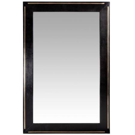 Espejo Negro Y Dorado 45x70 Cm 1000 12 15 216167 2
