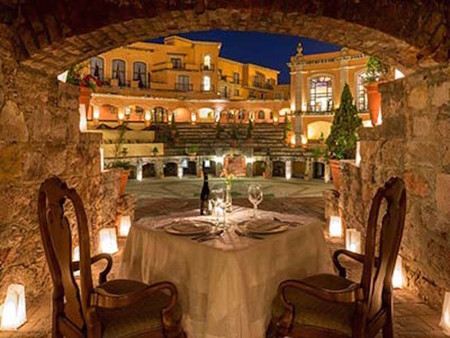 Quinta Real Zacatecas Cena Romantica 2
