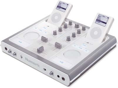 Numark iDJ, mesa de mezclas para dos iPod