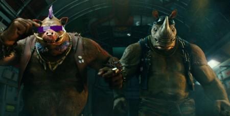 Bebop Rocksteady Ninja Turtles Fuera De Las Sombras