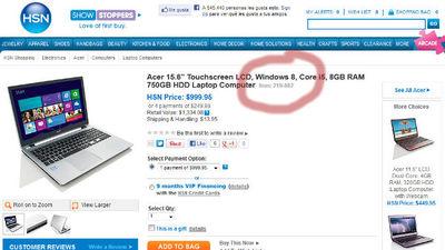 Máquinas con Windows 8 ya a la venta sin esperar el lanzamiento oficial
