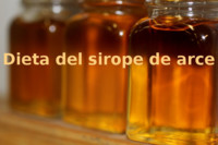 Dieta del sirope de arce. Análisis de dietas milagro (XXXVI)