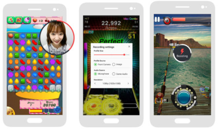 Samsung Game Recorder App