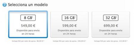 precios iphone 5c españa