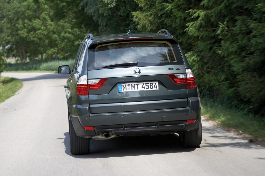 BMW X3 con EfficientDynamics