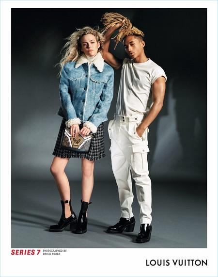 Jaden Smith vuelve a apostar por la estética de género ambigua calzándose unos tacones en la nueva campaña de Louis Vuitton