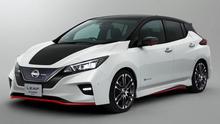 Así es el Nissan Leaf Nismo Concept: más salero y deportividad para el eléctrico de la casa