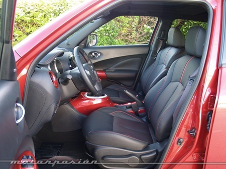 Nissan Juke 2014 rojo