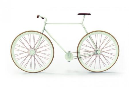 Con la bici en la mochila