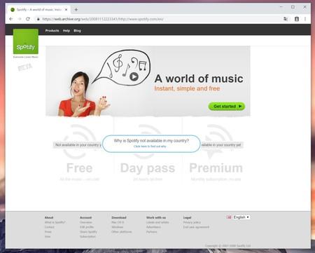 Spotify Wev 2008