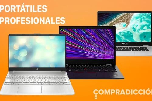 Ofertas de septiembre en Amazon: 19 portátiles de trabajo de Acer, ASUS, HP, Huawei, Lenovo, LG o MSI a precios rebajados