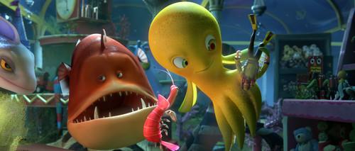 Las películas de animación también tienen VFX, y así se hacen en 'Deep'