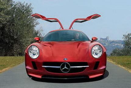 Retro-recreaciones del Mercedes SLC