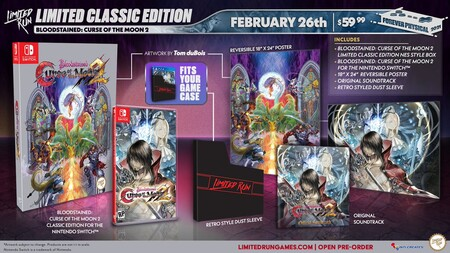 Bloodstained Curse Of The Moon 2 Edicion Coleccionista