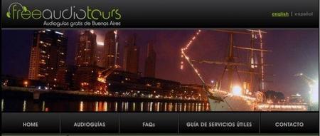 Audioguías gratuitas de Buenos Aires