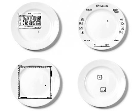 """iPlate, los platos que permiten """"editar"""" la comida"""