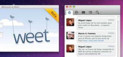 Weet for Mac Beta ¡Ya disponible!
