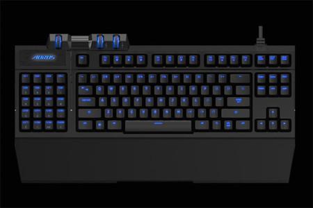 AORUS Thunder K7 es un teclado mecánico con pad de macros extraíble
