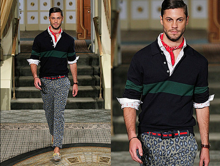 Michael Bastian SS 2014 french style