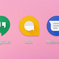 Hangouts, Allo y Messenger: así quedan las aplicaciones de mensajería de Google