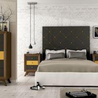 Tres cabeceros de inspiración vintage para un dormitorio muy romántico