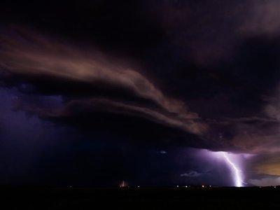 Cuando la angustiante e impresionante belleza de una tormenta nos deja sin palabras